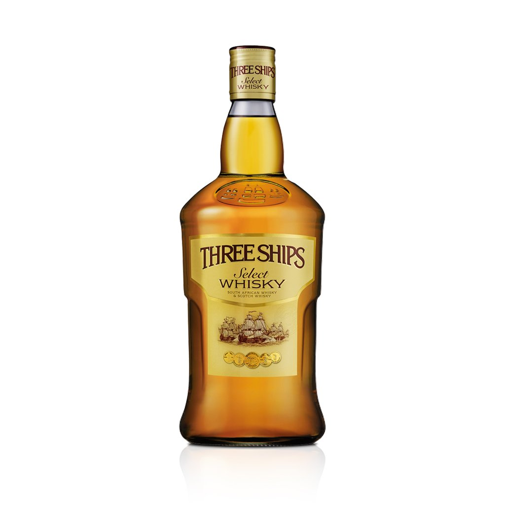 Three Ships Select Whisky 43% 75cl