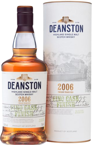 Deanston 2006 12 Year Old Fino Finish 55% 70cl