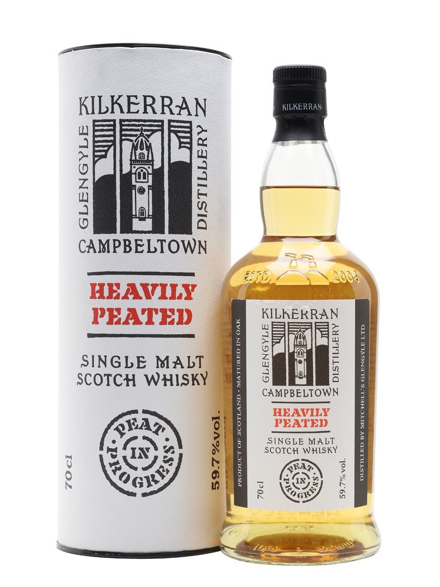 Kilkerran Heavily Peated Batch No 3 59.7% 70cl