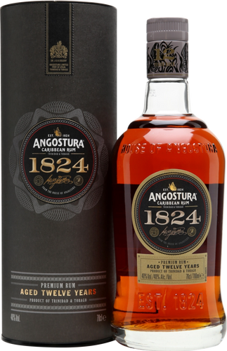 Angostura Rum 12 Year Old 1824 40% 70cl