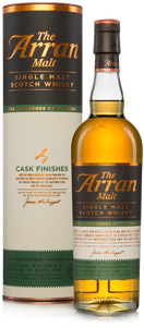 Arran Cask Finish Sauternes 50% 70cl (& Arran 10 Year Old 5cl)