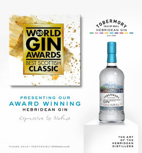 Tobermory Gin 43.4% 70cl