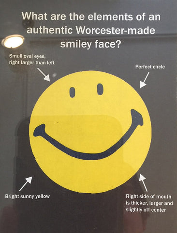 authentic Worcester smiley face