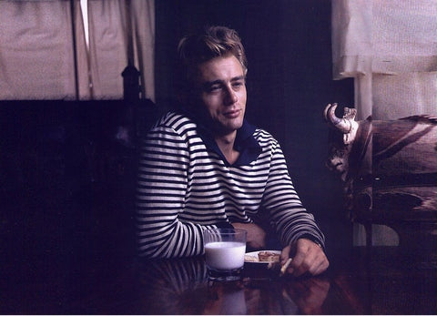 James Dean mariniere breton striped top