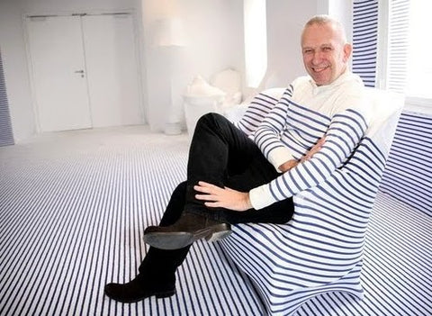 Jean Paul Gaultier breton striped interior hotel