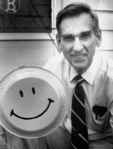 Harvey Ross Ball Designer of Smiley