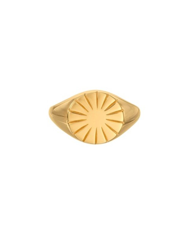 Pernille Corydon Era Signet Ring adjustable