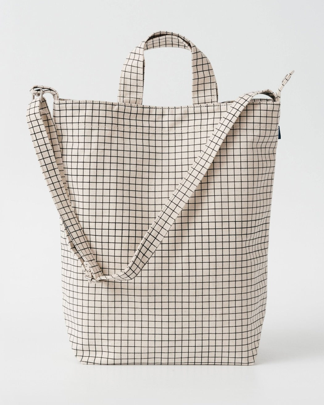 Baggu Duck Bag Natural Grid Utrecht Nederland Europe