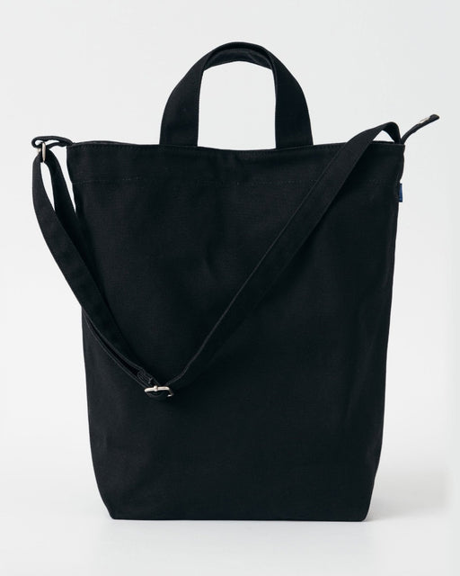 Baggu Duck Bag Black Canvas Cotton Utrecht