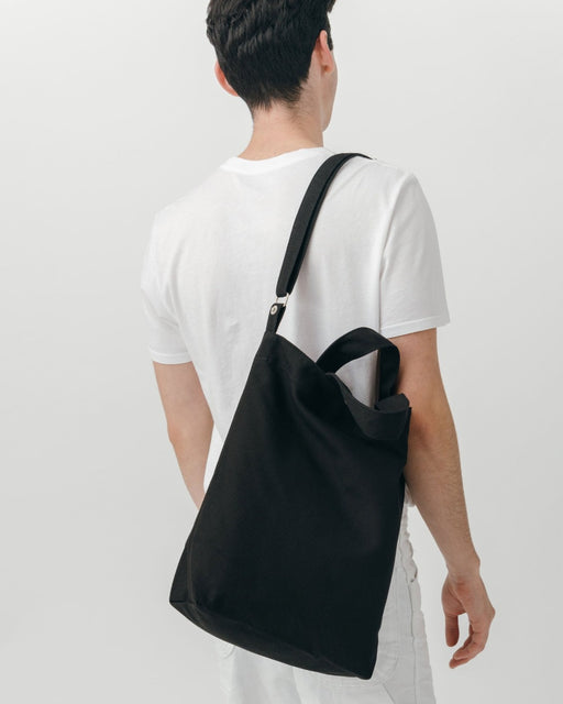 Baggu Duck Bag Black Recycled Cotton Tote