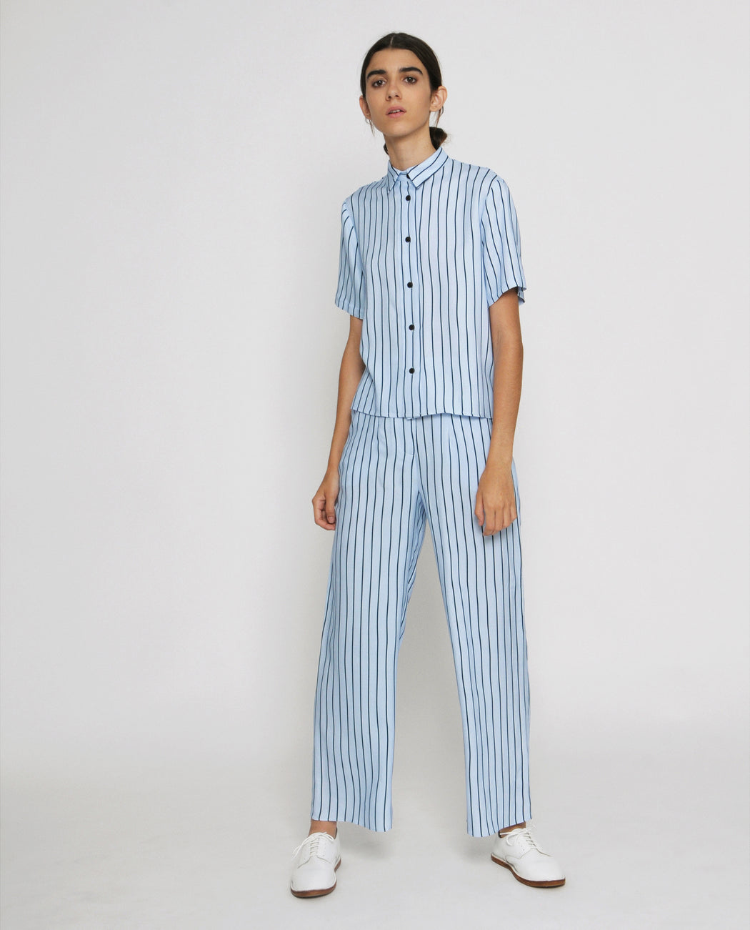 Alex striped trousers