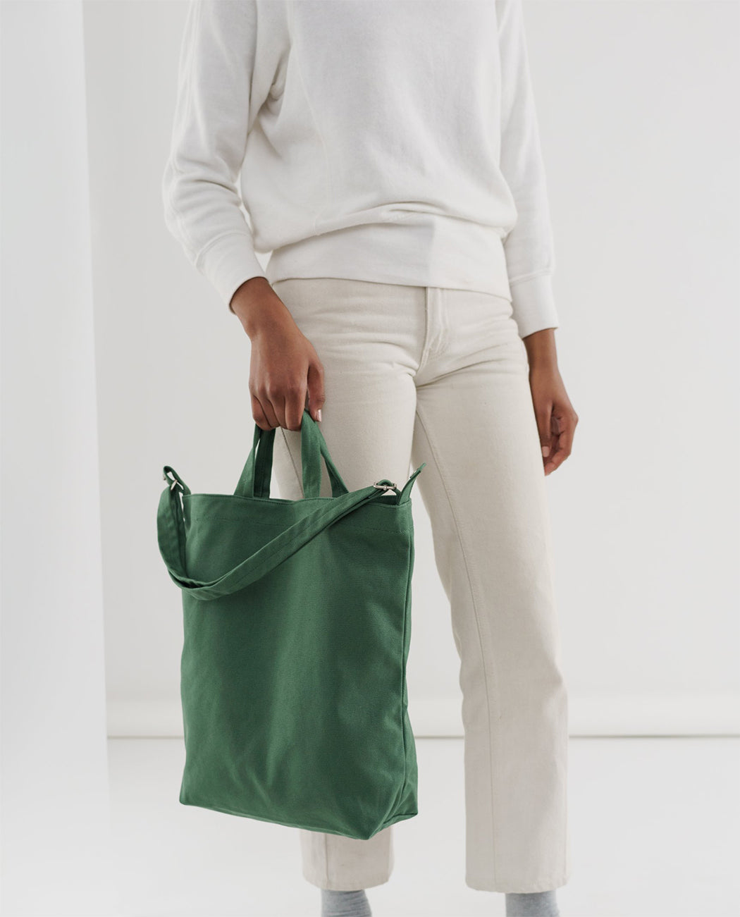 Baggu Duck Bag Eucalyptus Green Sustainable Fashion Utrecht