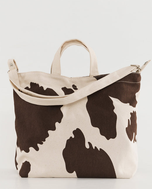 Baggu Horizontal Duck Bag Brown Cow Europe UK Finland