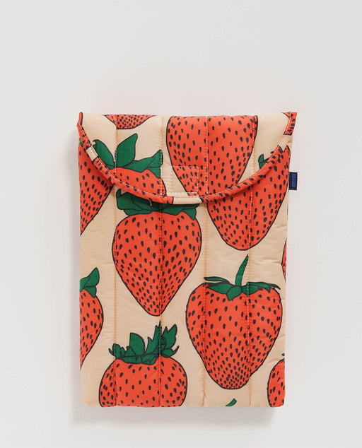 Baggu Puffy Laptop Sleeve 13 inch Strawberry Nederland Europe