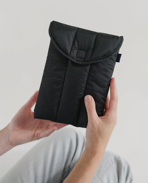 Baggu Puffy Tablet Sleeve 8 inch Black nederland europe