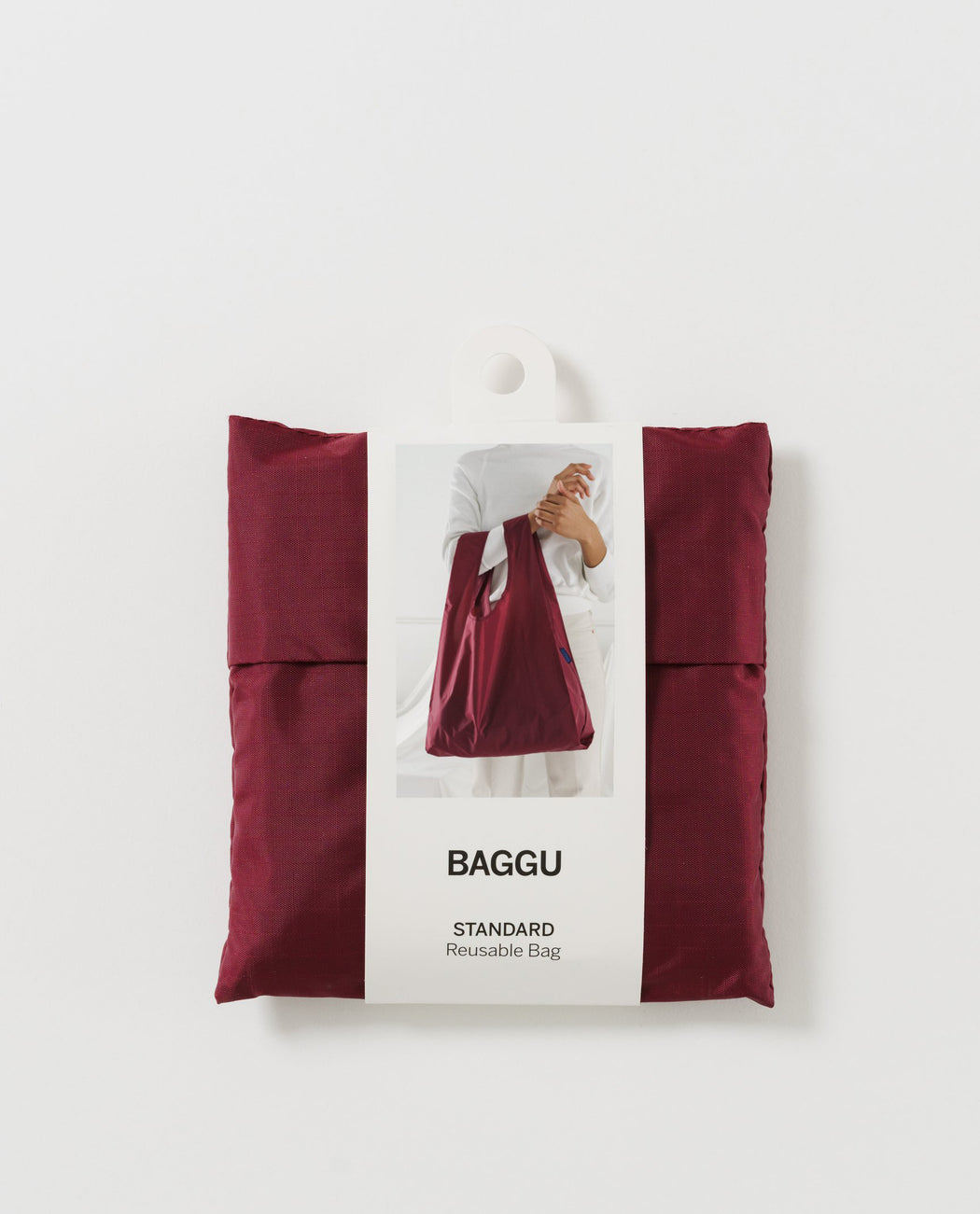 Baggu Standard Reusable Bag Cranberry Red
