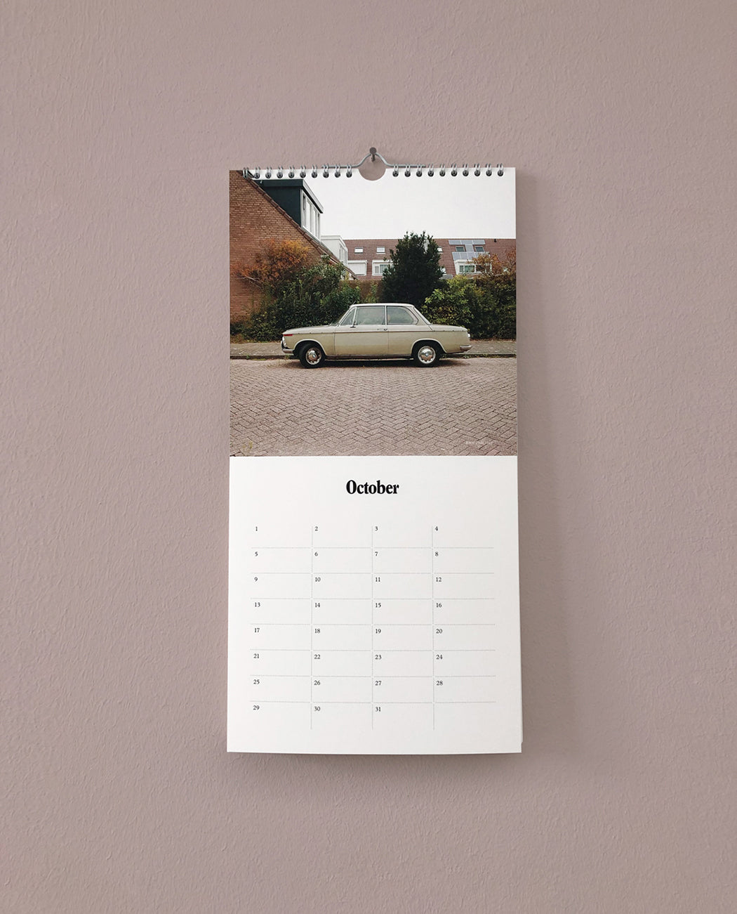 Boris Rijksen Dream Car Birthday Calendar