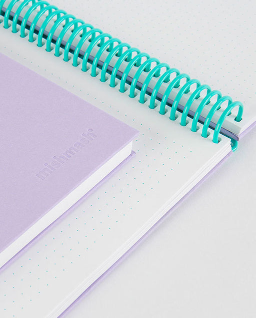 Easy Breezy Notebook Lavender