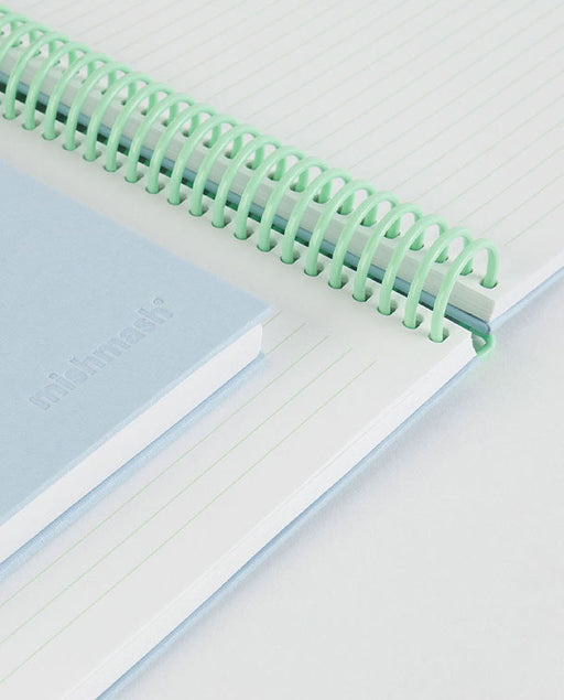 Easy Breezy Notebook Sky Blue