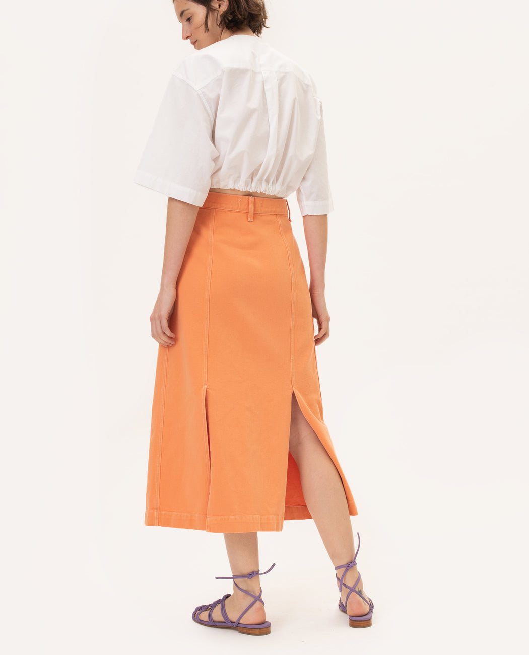 Mundaka Skirt Andrea Skirt Orange Spain Netherlands Europe