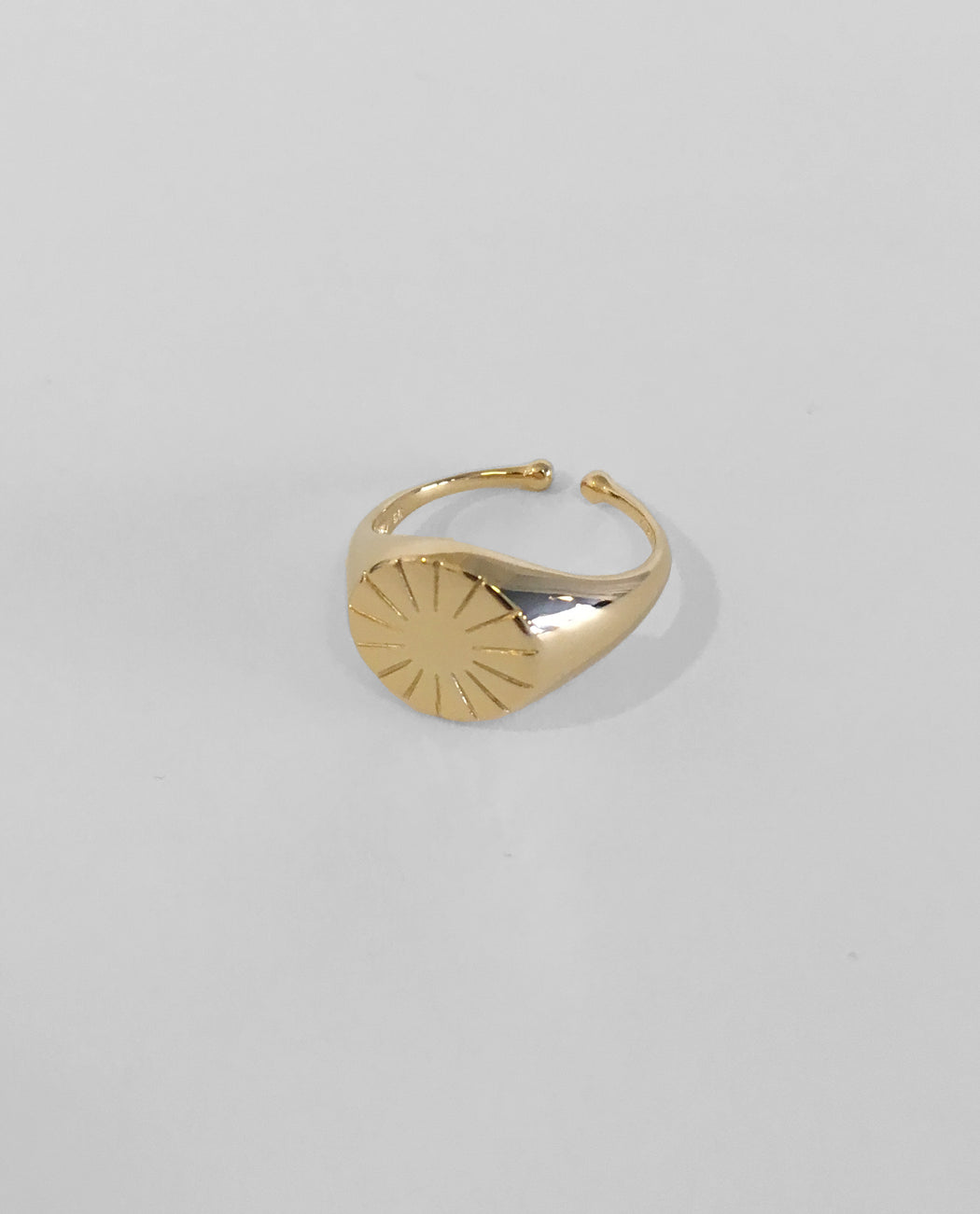 Era Signet Ring Silver / Gold