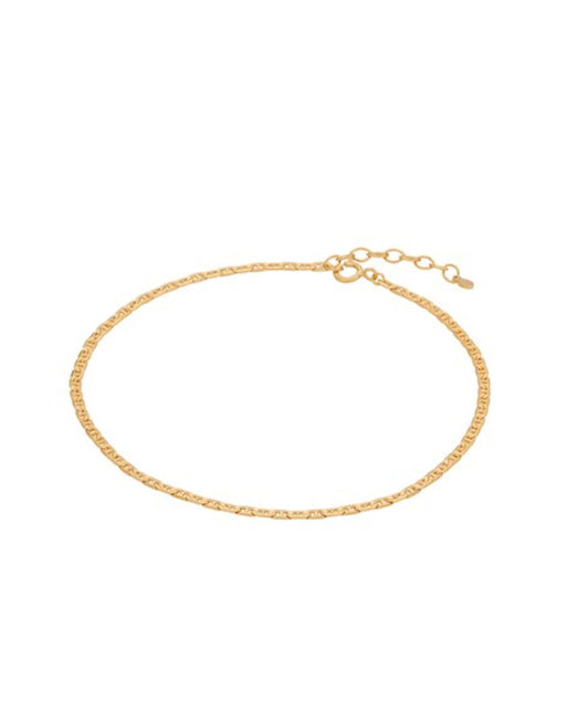 Pernille Corydon Therese Anklet Gold