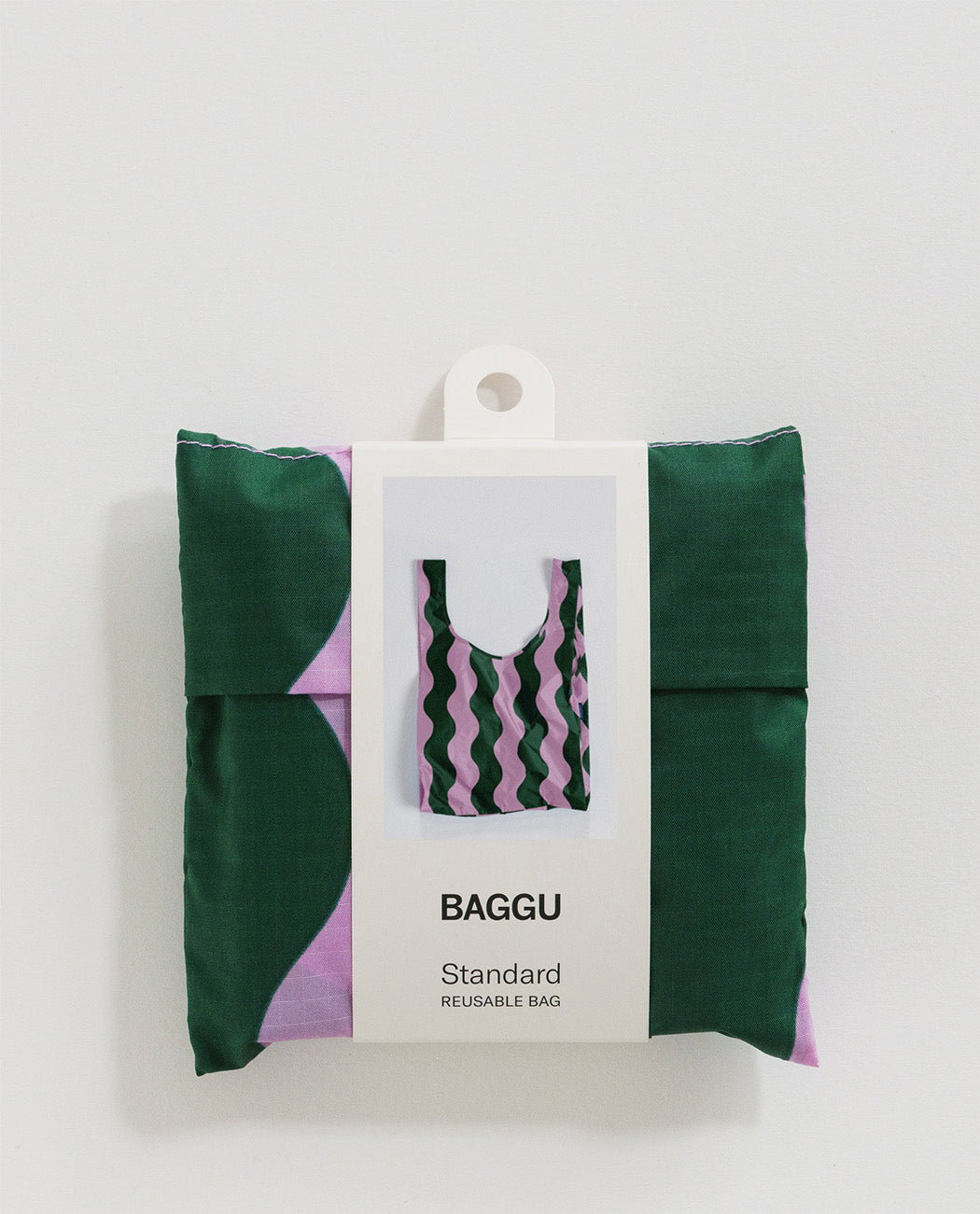 Baggu Standard Pink and Green Wavy Stripe Europe Nederland Utrecht