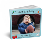 Just Like Tatty, Personalized Story Book