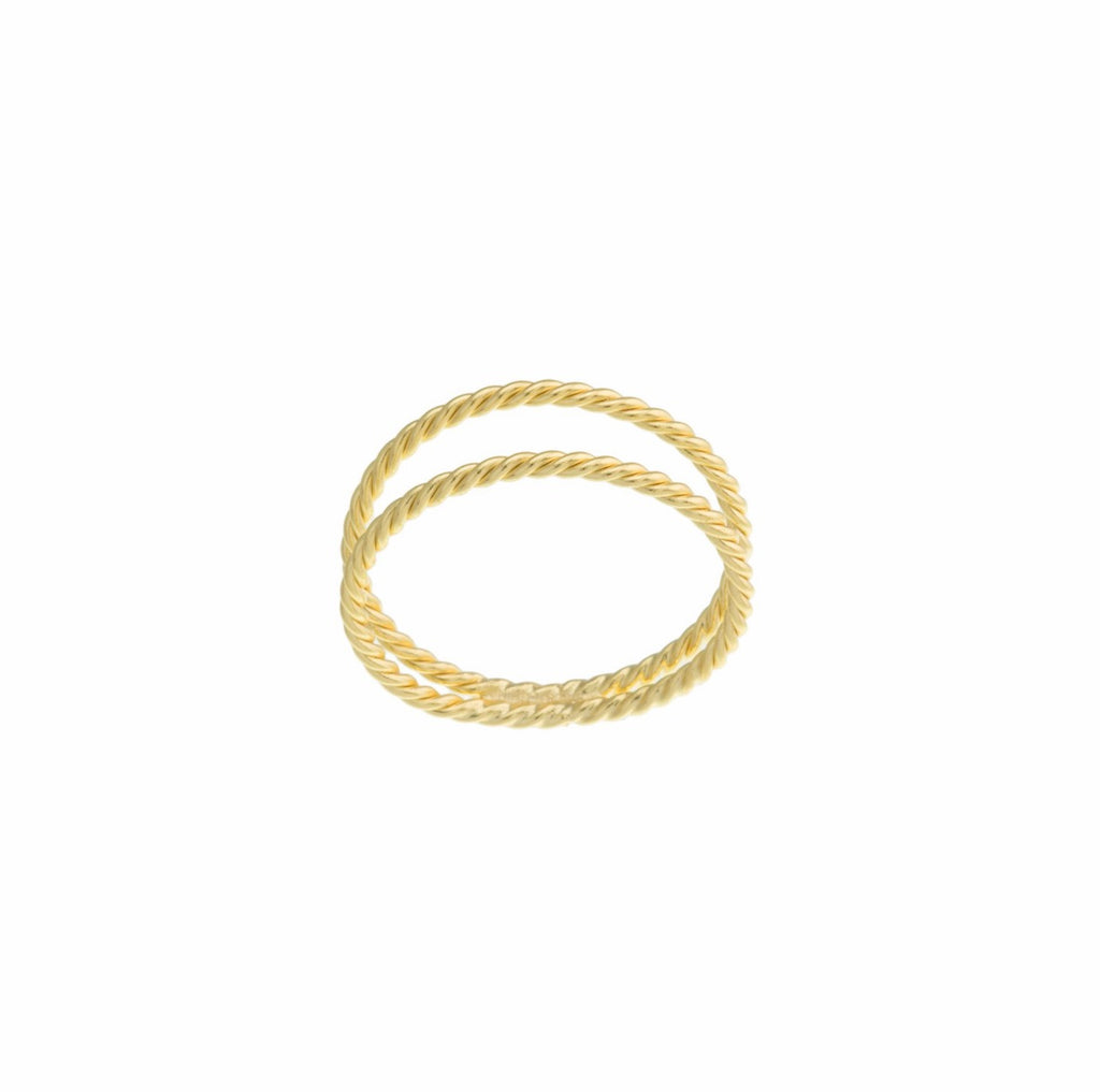 Gold Double Band