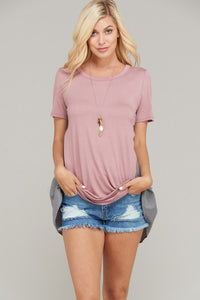 Ruched Back Top