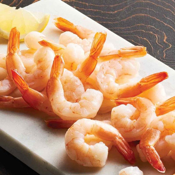 Cooked, Peeled Tail on Prawns - Seafood Direct UK
