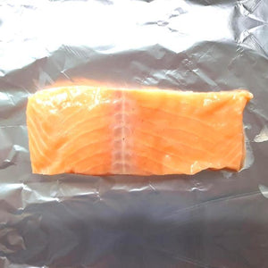 Plain Salmon Supremes Skinless Boneless 5-6oz - Seafood Direct UK