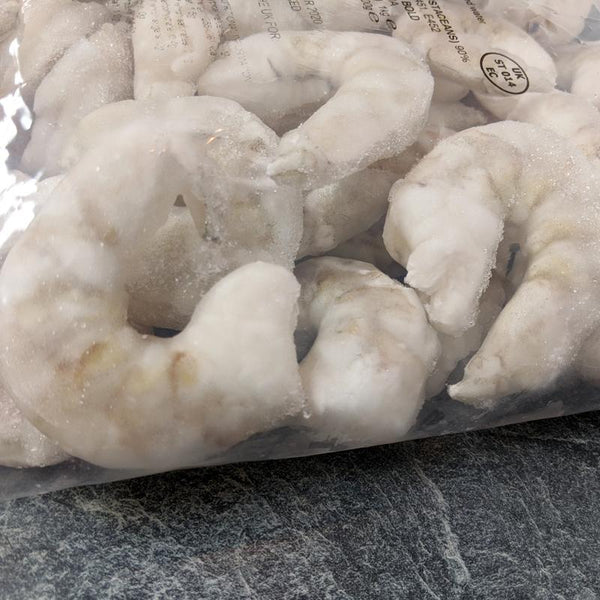 Prawns Raw Peeled Deveined 8-12 - Seafood Direct UK