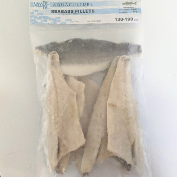 Sea bass Fillets 130/190 - Seafood Direct UK
