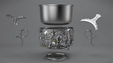 The Making of a Roman Silver Cup ~ The Getty Museum