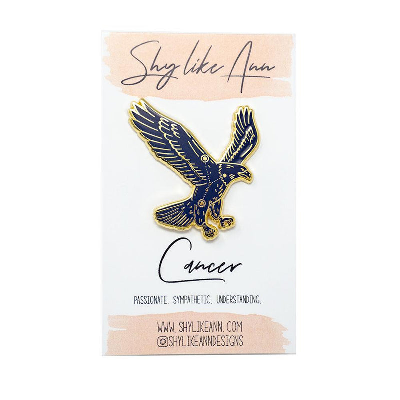 Cancer - Eagle-Pin-MUKA
