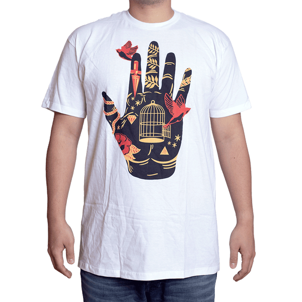 Tattoo Hand Colour T-Shirt