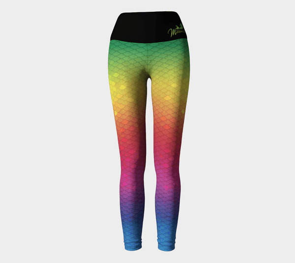 Leggings Mermaid Leggings Rainbow - seeksheek.myshopify.com
