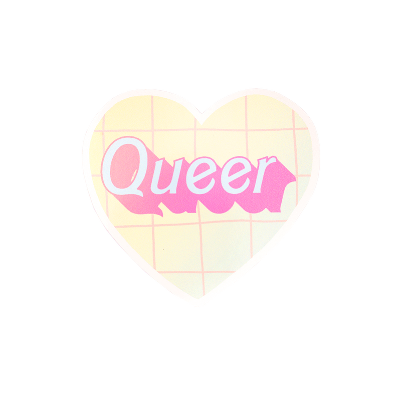 90s Aesthetic Queer Sticker