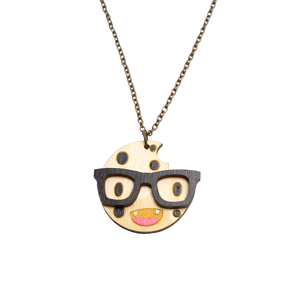 Smart Cookie Necklace
