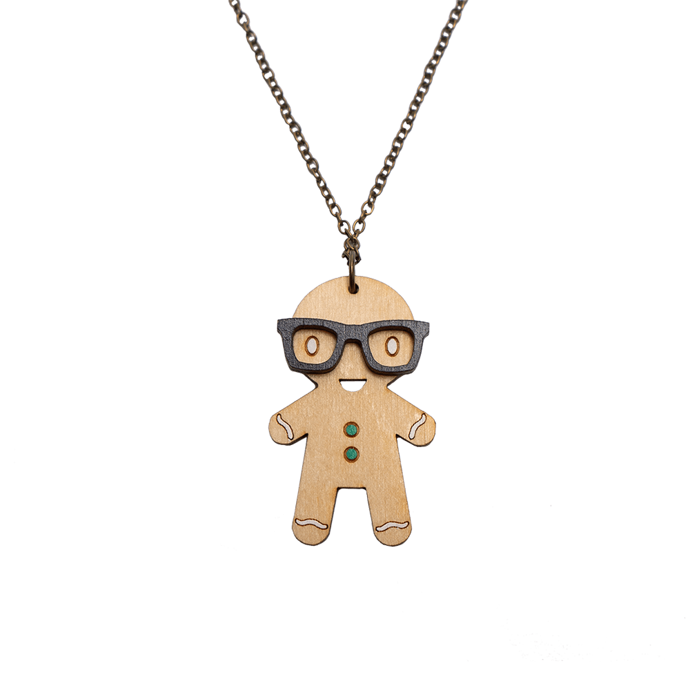Smart Gingerbread Necklace