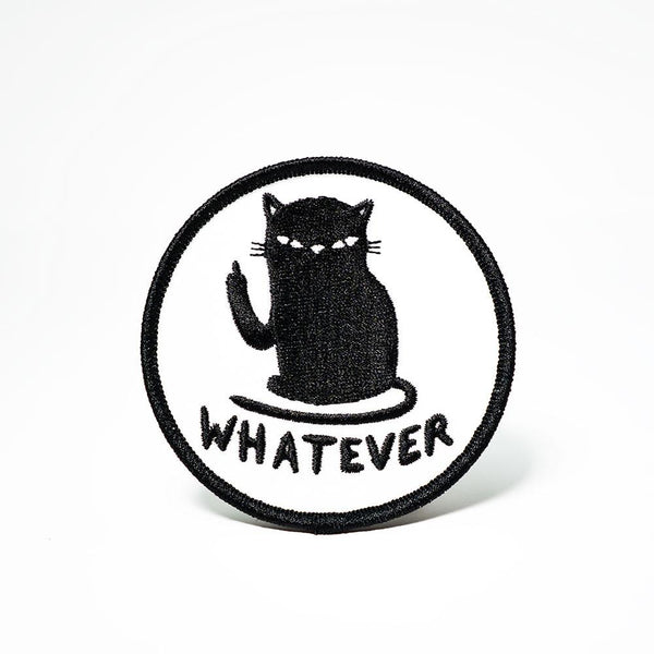Whatever Cat Patch-Patch-MUKA