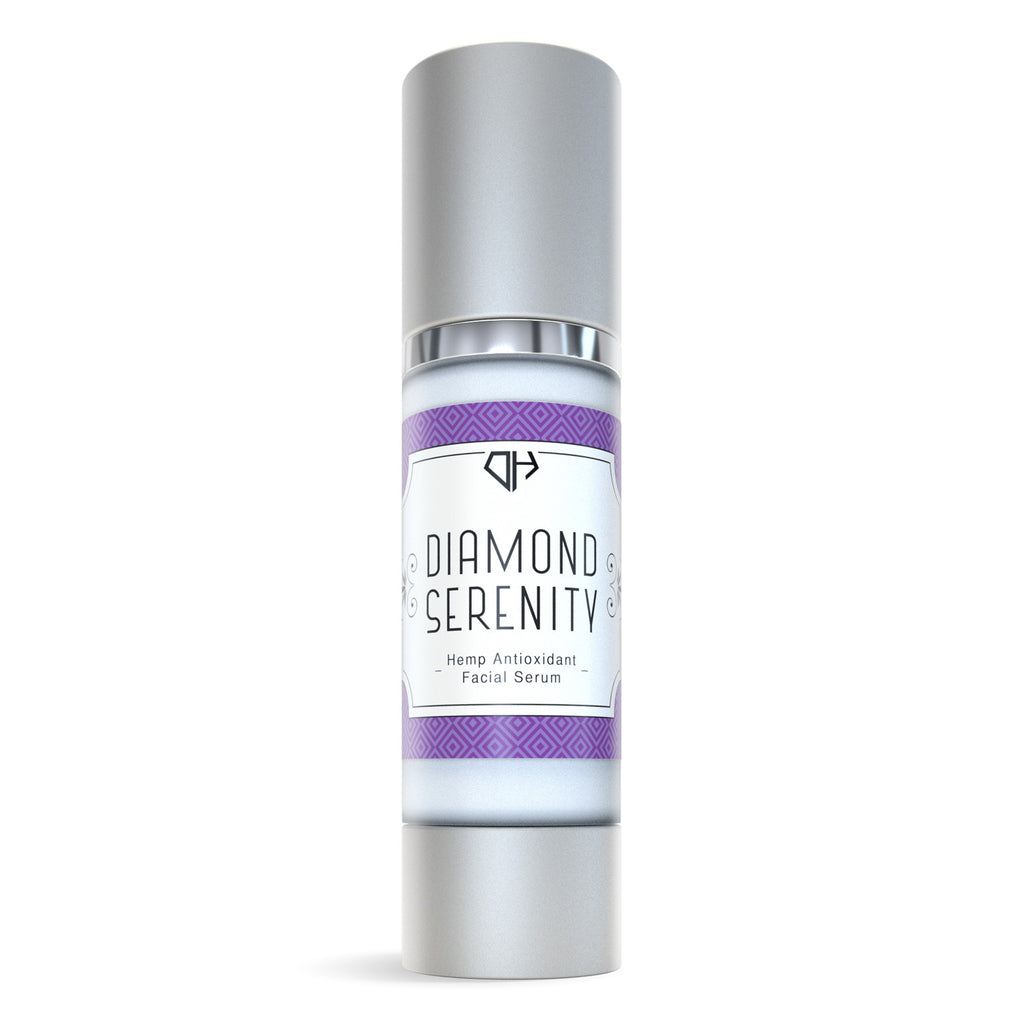 Hemp Antioxidant Facial Serum (Diamond Serenity) - My CBD Mall