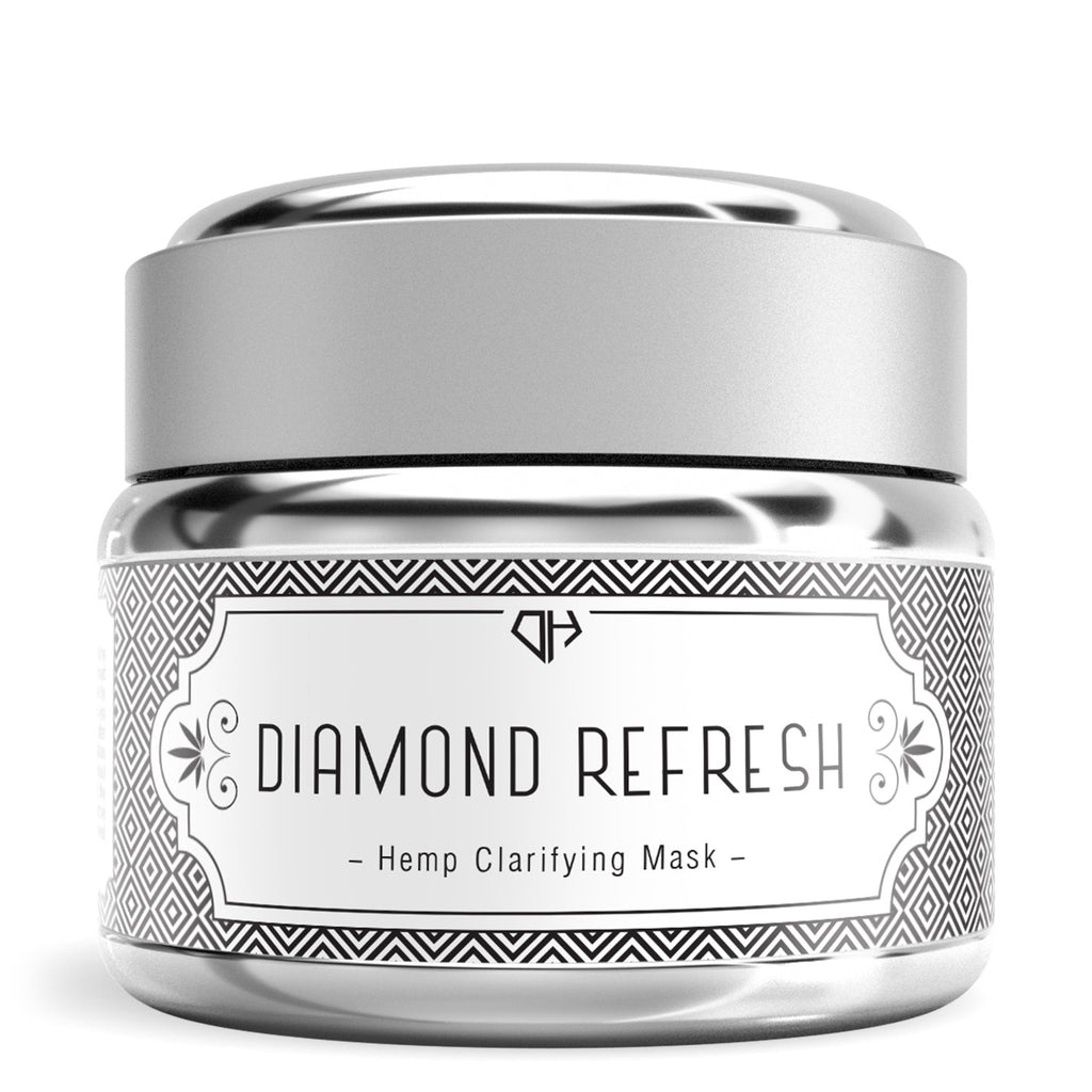 Hemp Clarifying Mask (Diamond Refresh) - My CBD Mall