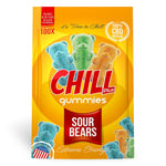 Chill Plus Gummies - CBD Infused Sour Bears [Edible Candy] - My CBD Mall