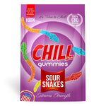 Chill Plus Gummies - CBD Infused Sour Snakes [Edible Candy] - My CBD Mall