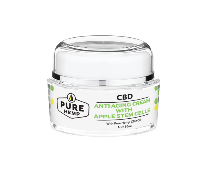Anti-Aging Cream with Apple Stem Cells - My CBD Mall