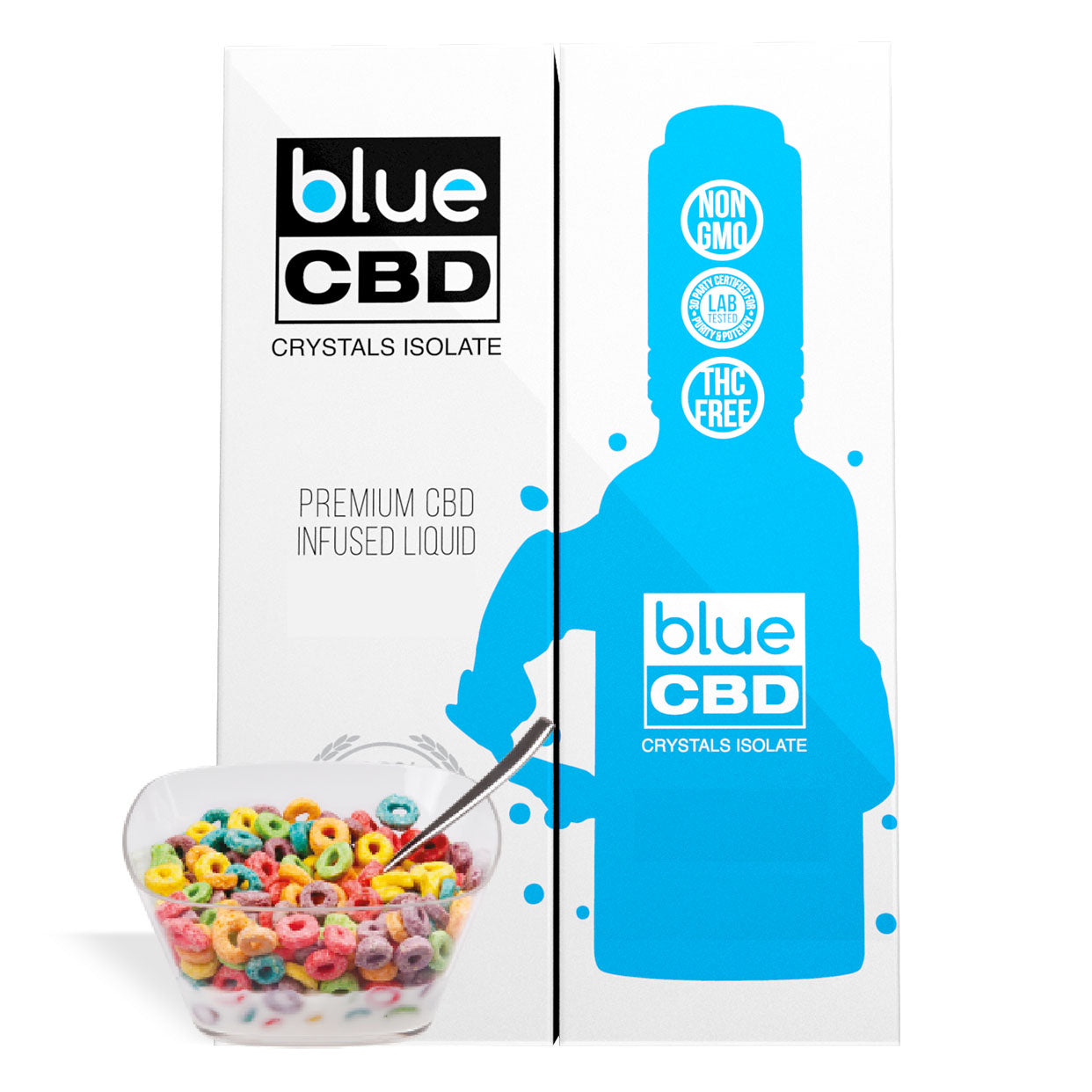 Fruit Circle Cereal Flavor Blue CBD Crystal Isolate - My CBD Mall