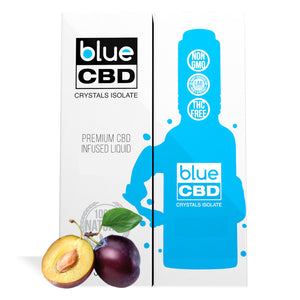 Plum Flavor Blue CBD Crystal Isolate - My CBD Mall
