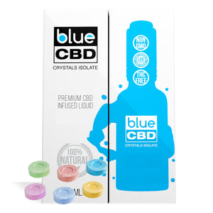Tangy Sugar Buttons Flavor Blue CBD Crystal Isolate - My CBD Mall